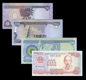 Image Is Loading Vietnamese 500 Dong Free With 800 Iraqi Dinar