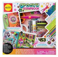Alex Toys Craft Groovy Scrapbook Kit , New, Free Shipping