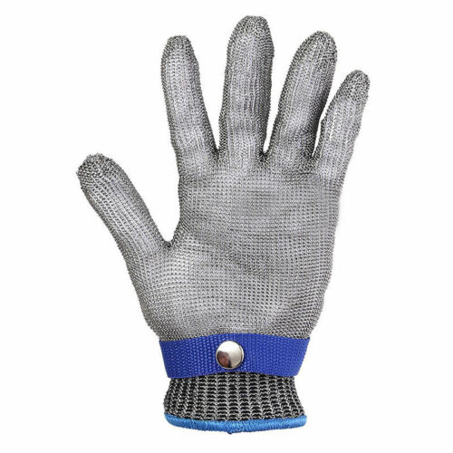 Metal Mesh Butcher Gloves Cut Anti-cutting Breathable Stainless Steel Safety