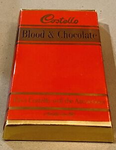 Elvis Costello SUPER RARE Blood & Chocolate Cassette Limited Ed. UK