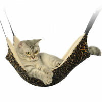 Secure Hammock Crib Sleep Bed Kitten Toys Cradle Fleece Cage Cover Us For Cat