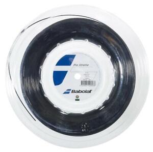 200m Rolle 0,42 EUR//m schwarz 1,28 mm Wilson SENSATION PLUS
