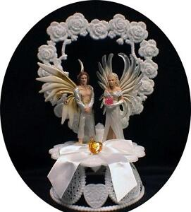 fantasy fairy wedding cake topper bayala figure sireel amp solfur wedding 14197
