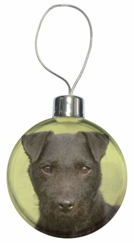 AD-PT2CB Patterdale Terrier Dog Christmas Tree Bauble Decoration Gift
