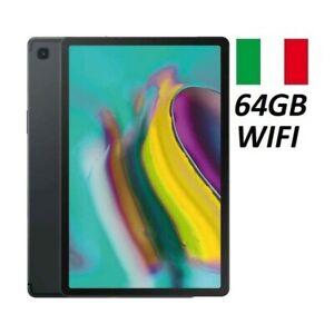 SAMSUNG-GALAXY-TAB-S5E-SM-T720-N-10-5-034-64GB-SOLO-WIFI-BLACK-GARANZIA-ITALIA