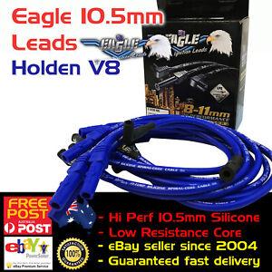 EAGLE-10-5mm-Ignition-Spark-Plug-Leads-Fits-Holden-V8-308-Str-Plug-amp-disi-boot