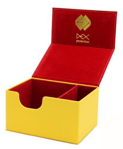 Medium Yellow DEXCLY002 Dex Protection Creation Line Deck Box