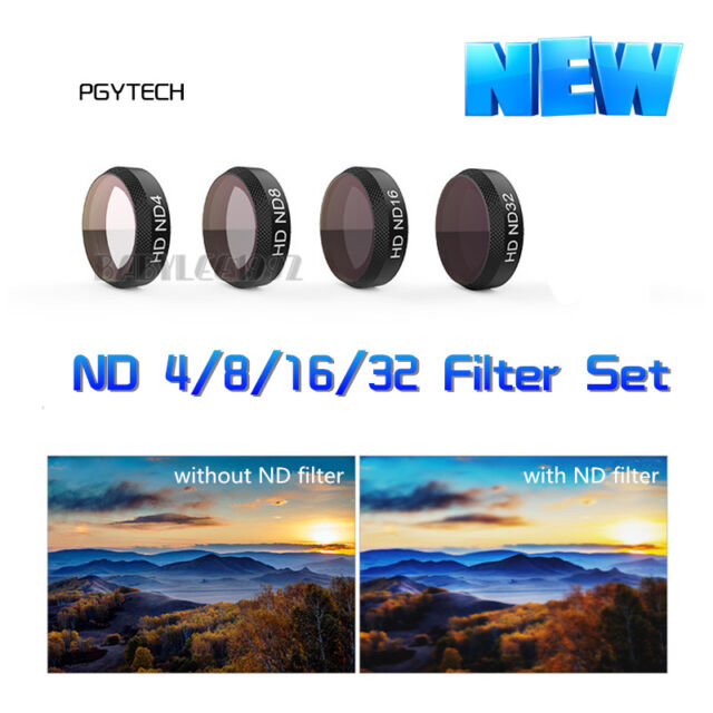 CPL Lens Filter Kits for DJI Mavic Pro,Hight Quality Todayday Camera Carrying Travel Protective Case 4 in 1 HD Drone Star Effect ND2 ND4