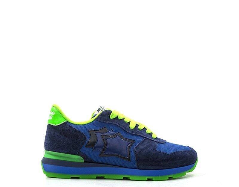 zapatos ATLANTIC STARS hombres zapatillas trendy  azul AZZURRO  ANTARESAM-38VF