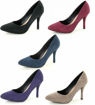 Señoras Spot On De Tacón Alto señaló el Tribunal Zapatos f9672