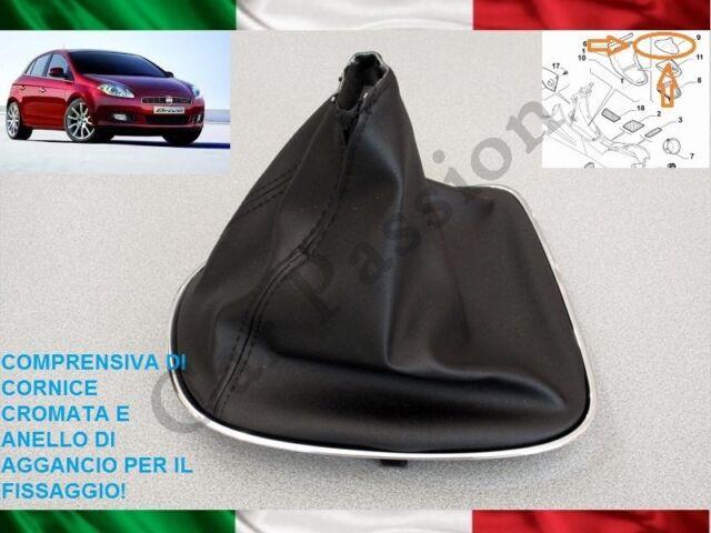 Bolsa Cambio FIAT Bravo 2007-2014 Original en la Piel Con Ganchos Engranaje Boot