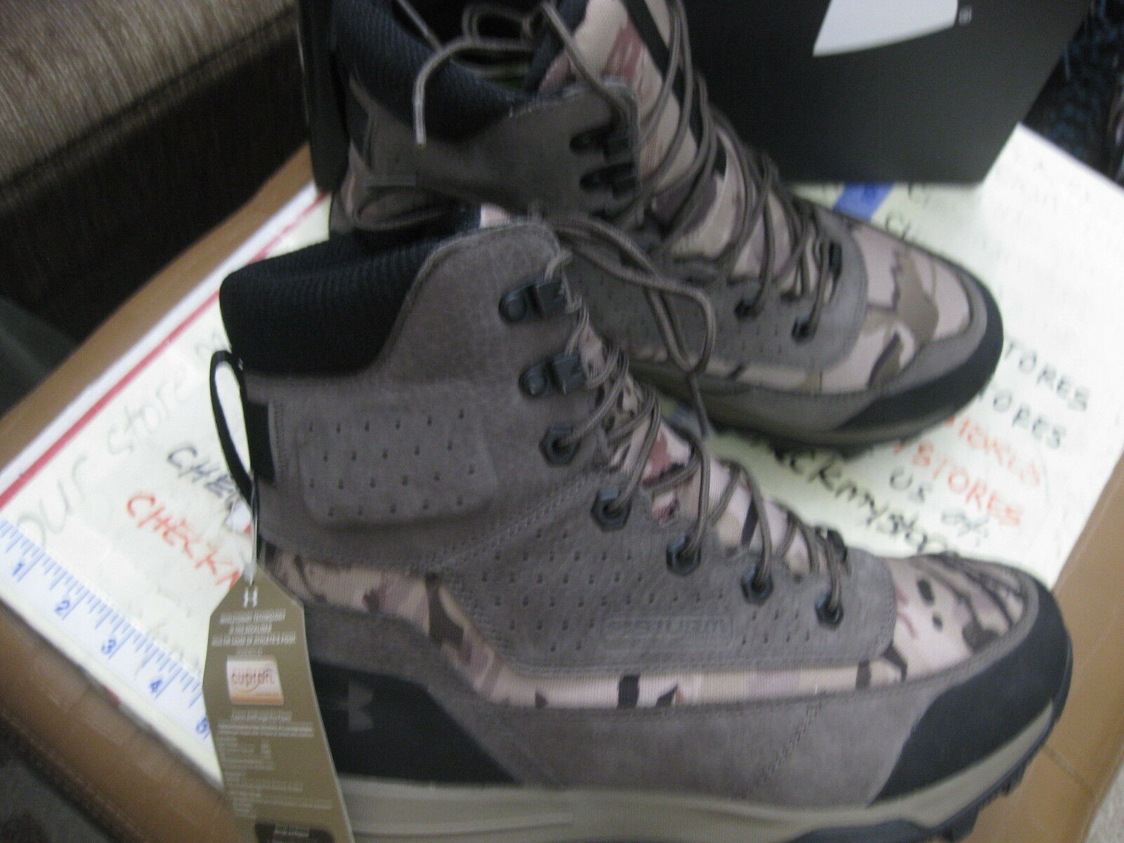 NEW Under Armour UA SF SF SF Bozeman 2.0  INSULATED Hiking Hunting stivali 1299237-900 12923d