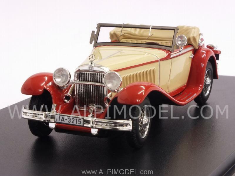Mercedes Mannheim 370S 1932 Beige Red 1 43 NEO 43215