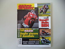 MOTOSPRINT 31/2001 KTM SX 250/DUCATI MONSTER 620/YAMAHA MAJESTY/MBK THUNDER 125