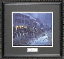 Mort Kunstler THE LONG ROAD SOUTH Framed Print Civil War Wall Art Gift