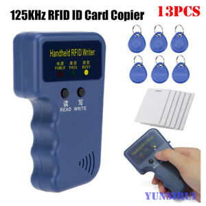 STEBCECE Handheld RFID Duplicator Key Copier Reader Writer Card Cloner Programmer 125KHz