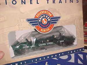 Lionel---# 19878---operating Helium Tank Flat Car,,postwar Celebration Series Toys & Hobbies Model Railroads & Trains