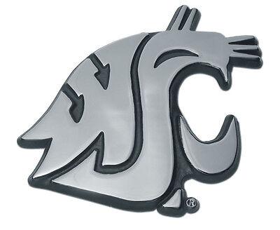 "University of Northern Iowa /""UNI/"" Shiny Chrome Auto Emblem"