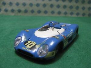 Vintage-Matra-650-Le-Mans-1-43-Solido-N-178-condicion-de-menta