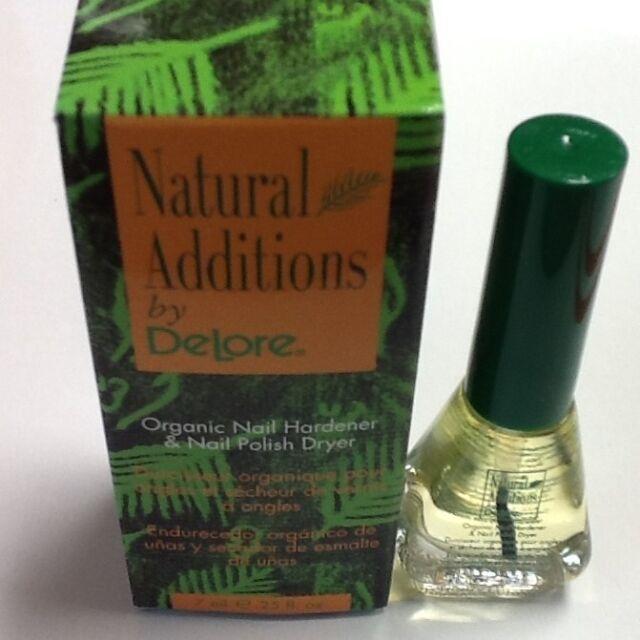 NEW Delore for Nails Organic Nail Hardener and Nail Polish Dryer ...