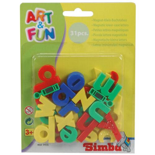 SIMBA Art /& Fun Magnet-Kleinbuchstaben