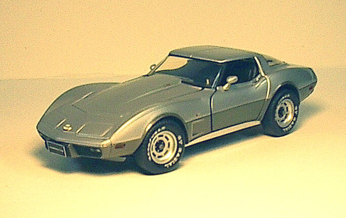 1 24 Franklin Mint 1978 Chevy Chevrolet Corvette - 10008