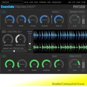 Eventide-PHYSION-Fission-Transient-Effects-Plug-in-Audio-Software-NEW