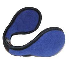 Blue Wrap Around Fleece Ear Muffs Cover Warm Winter Ski Warmers Cycling Earmuffs