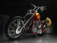 Harley Davidson Motorcycle w/ Easy Rider Billy Bike Frame & Engine Motor Chopper