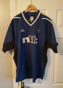 Newcastle-United-Away-Football-Shirt-Kit-Jersey-Top-Size-XL-2001-2002-Adidas