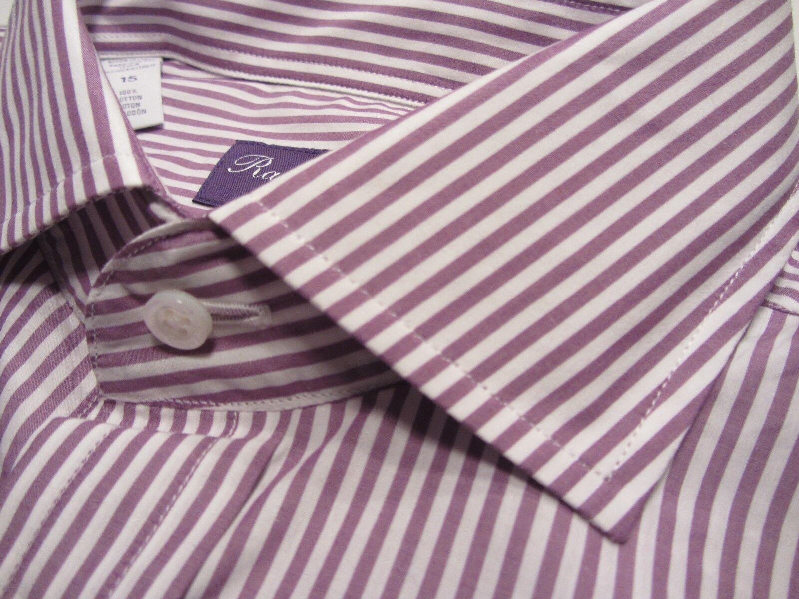 Ralph Lauren lila Label 38 S S S 15  FARBLICH TOP + GESTREIFT      3412     | Reichhaltiges Design  a67753