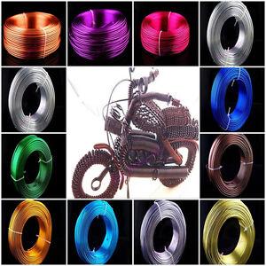 1mm-1-5mm-2mm-Aluminum-Wire-Jewelery-Making-Craft-Wrap-2Meter-15Color-U-Chooce