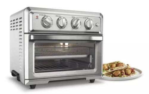 Stainless Steel Cuisinart CTOA-120FR 1800 Watts Air Fryer Toaster Oven
