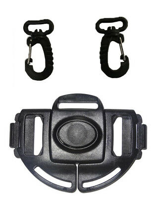 Baby Uppababy Stroller Shoulder Harness Clip Buckle Replacement Part pair Hook