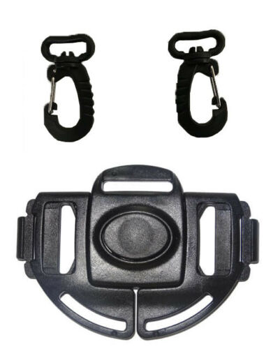 For UPPAbaby Vista Baby Stroller Waist Harness Buckle /& Clip Replacement Part