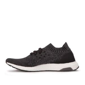 8e6a815b324e3 New Men s Adidas Ultra Boost Uncaged Core Black Solid Grey BY2551