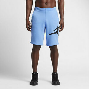 6a594f7f8e9793 Nike Jordan Retro 11 Legacy Shorts Carolina Blue French Terry 884280 ...