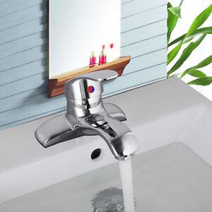 Image Is Loading Re 2 Hole Deck Mount Bathroom Filler Basin