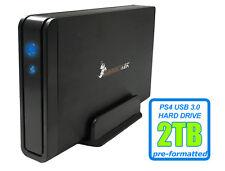 HornetTek Viper 2TB USB 3.0 External PS4 Hard Drive for PS4, PS4 Slim, PS4