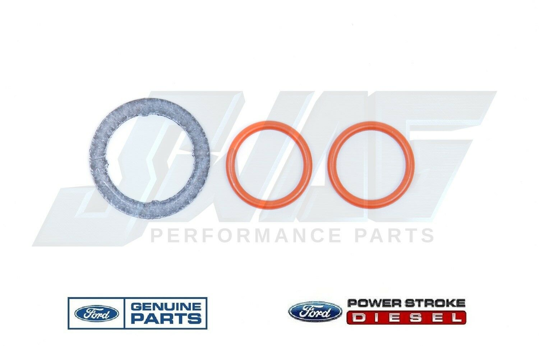 03-10 Ford 6.0L Powerstroke Diesel Genuine OEM Updated EGR Valve Oring Kit 9P455