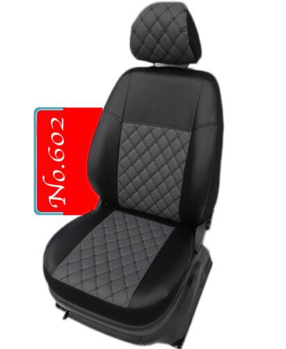 VW Passat 3C B7 Bj 2010-2014 Maß 1+1 Sitzbezüge Schonbezüge 602 Teil Kunstleder