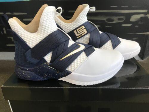 Nike LeBron Soldier XII SFG Witness AO4054-100 Lebron James Basketball Shoes NIB