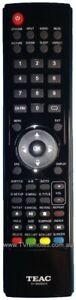 TEAC TE0118020315 Remote Control