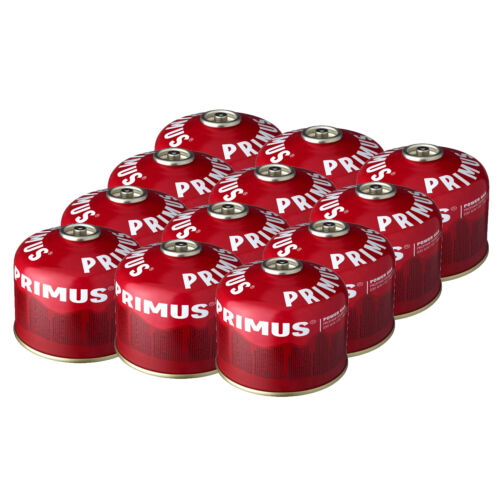 Pack of 12-230g or 450g Primus Power Gas Cylinder Cartridges