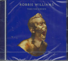 CD ♫ Compact disc «ROBBIE WILLIAMS • TAKE THE CROWN • THE ROAR EDITION» nuovo