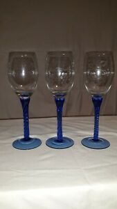 Blue-Stemmed-Grape-Etched-Glass-Wine-Champagne-Glasses-Set-of-3