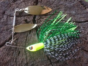 Bass-Yellowbelly-Saratoga-Cod-Spinnerbait-Spinner-Bait-Baits-Fishing-Lure-Lures