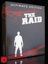 BLU-RAY + DVD - THE RAID - ULTIMATE EDITION - 6 DISC-BOX-SET - Limited ** NEU **