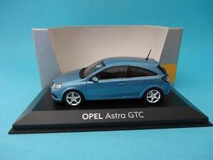 OPEL-ASTRA-GTC-2005-III-GENERATION-BLUE-METALLIC-1-43-NEW-MINICHAMPS