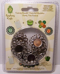 14-Round-Metal-Settings-Create-Charms-or-Embellishments-for-Scrapbooks-amp-Jewelry